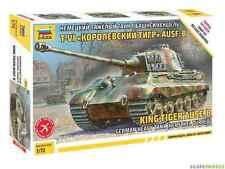 Zvezda King Tiger Ausf.B Henschel Turret Plastic Model Kit - 1/72 Scale - 5023