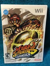 Mario Strikers Charged (Nintendo Wii, 2007) Free Shipping