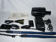 Sony Handycam CCD-TR814 8mm Video8 Camcorder VCR Player Camera Video Transfer