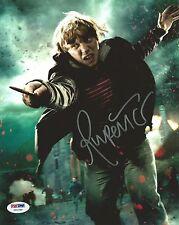 Rupert Grint Signed Harry Potter 8x10 Photo PSA/DNA COA Deathly Hallows 2 Auto'd