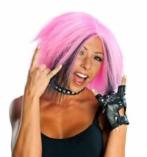 PINK PUNK WIG Tokyo Japan short bob hair adult teen womens costume accessory