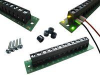 S644 - 2 Stück Verteiler Stromverteiler V2.0 mit Status LEDs + Einbauzubehör