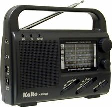 Emergency Preparedness Multiband Solar Handcrank Radio TV Band KA007