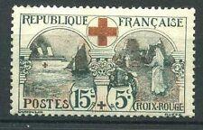 "FRANCE N° 156  "" CROIX ROUGE  L'INFIRMIERE  15c + 5c ""  NEUF xx  TB"