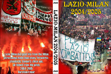 DVD LAZIO-MILAN  2004/2005-----CURVA SUD MILANO,AC MILAN 1899,BRN,FDL,CT,ULTRAS
