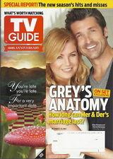 Grey's Anatomy TV Guide Oct 2013 Joseph Morgan Glee Scandal Patricia Arquette