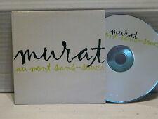JEAN LOUIS MURAT Au mont sans souci CD single PROMO Mono titre