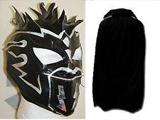 KALISTO MASK BLACK CAPE CHILDRENS WRESTLING NEW FANCY DRESS UP COSPLAY WWE