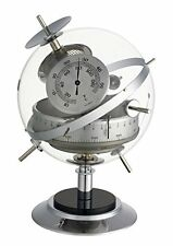 Analogue Weather Station of White Vintage Brass TFA 2020475B Sputnik Retro White