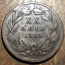 PIECE DE 20 REIS 1883 DU PORTUGAL (254)