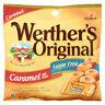 Werther's Original Sugar Free Caramel Hard Candy 1.46Oz. Bags Lot of 5 bags
