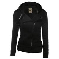 Womens Casual Ladies Hooded Jacket Coat Jumper Sweatshirt Sweat Hoodie Pullover