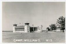 Camp Williams Guard Tower VOLK FIELD Vintage RPPC Douglas Photo 1940s