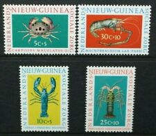 NETHERLANDS NEW GUINEA 1962 Social Welfare Funds: Shellfish Set of 4 MNH SG84/87