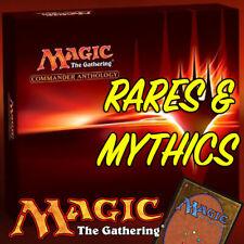 Magic the Gathering MTG Commander Anthology CMA Mythic Rares & Rare Cards NM/M