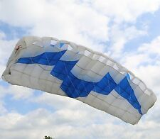 Demon 110 sq ft - 9 cell ZP elliptical parachute canopy by Performance Variable