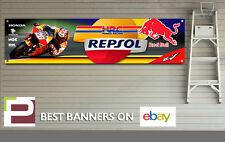 REPSOL HONDA RACING Banner per officina, garage, rc213v, Dani Pedrosa, Red Bull