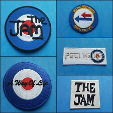 More details for collection of five individual sew on / iron on patches:- the jam paul weller