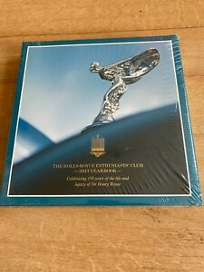 THE ROLLS-ROYCE ENTHUSIASTS CLUB 2013 YEARBOOK 150 YRS SIR HENRY ROYCE H/B BOOK
