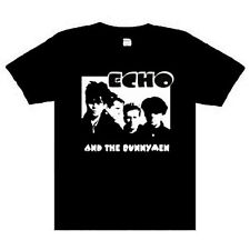 Echo And the Bunnymen  Music punk rock t-shirt  S-M-L- XL -XXL NEW