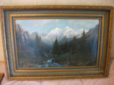 John Drapp (1883-1938) LISTED landscape.  WOW!!  This painting is a stunner!