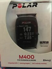 Brand new Polar M400 Fitness Watch With GPS And H7 Heart Rate Monitor (Black)