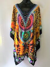 Loose Fitting  Embellished Kaftan Digital Print Size 16-18-20-22