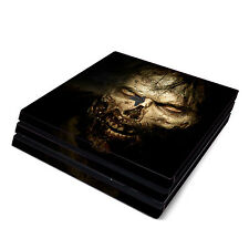 Skin Decal Cover Sticker for Sony PS4 Pro - The Walking Dead Zombies