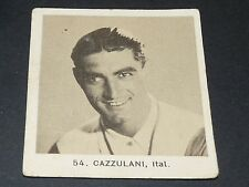 CYCLISME GLOBO GEANTS ROUTE TOUR 1936 N°54 CAZZULANI ITALIE ITALIA CICLISMO