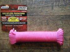 SecureLine 5/32-Inch X 50-Feet Military Grade 550 Nylon Paracord *NEW*  Pink