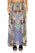 new CAMILLA FRANKS SILK SWAROVSKI YENI SARAY POCKET SKIRT DRESS KAFTAN layby ava