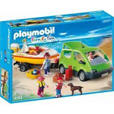 Playmobil 4144 Voiture avec remorque et bateau