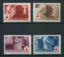 31768) HUNGARY 1944 MNH** Red Cross 4v Scott#B171/74