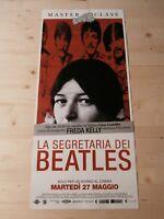 "FREDA KELLY SECRETARY BEATLES Original Movie Poster 12x27"" Italian"