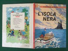 HERGE' - LE AVVENTURE DI TINTIN L'ISOLA NERA (Ed.Gandus) Libro Cartonato Fumetti