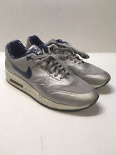 Nike Air Max 1 Hyperfuse QS 633087 006 Metallic SilverDeep