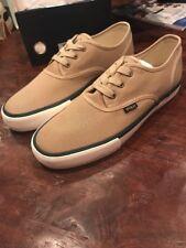 Polo Ralph Lauren Morray Shoes Sneakers Boat New Khaki Men's Size 11