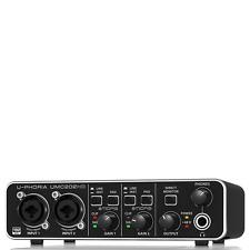BEHRINGER U PHORIA UMC202HD 24bit 192 Khz Recording Usb Audio Interface Preamp