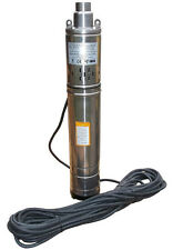 "IBO 3.5""SCR 1.8-50 Borehole Deep Well Submersible Water Pump LONG LIVE + CABLE"