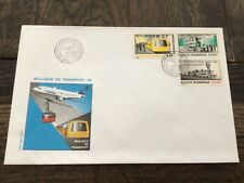 stamps Romania FDC means of transport SC 5079-81