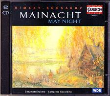 RIMSKY-KORSAKOV May Night Mainacht LAZAREV 2CD Bogatschow Matorin Borisowa
