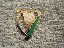 Irish Harp Pin Ireland Celtic Badge AOH LAOH New