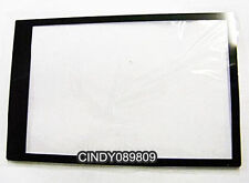 New For Sony HX9V HX100V Camera Outer LCD Screen Display Window Glass +Tape