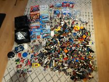 LEGO JOB LOT, MASSIVE COLLECTION, STORAGE CUBE, CITY, SUPERHEROES, BAGGED ITEMS