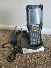 Motorola Mc9090 Pocket Pc Barcod 00004000 e Scanner and Symbol Crd9000 Charger w Cable