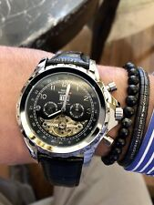 SWISS MASTER Mens Automatic Skeleton Watch With Big Date And Calendar