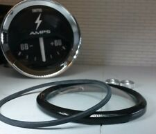 """Auxiliary Jaeger Smiths Gauge Reconditioning Kit Domed Glass Black V Bezel 2"""""""