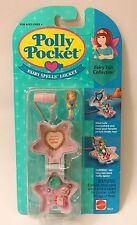 polly pocket 1992 Fairy spells locket necklace MOC NEW Bluebird