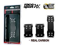 Toyota Yaris Race Sport Aluminio negro carbón juego de Pedal