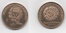 France 1 euro ville de Laon 1998 denier carolingien / médaille euro temporaire